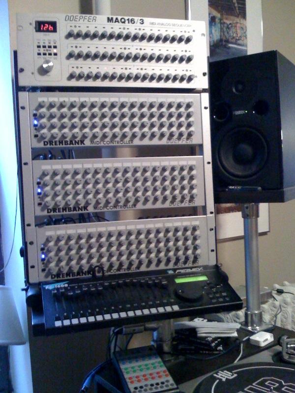 Ableton Forum • View topic - 4 sale Doepfer Drehbank MIDI Controller ...